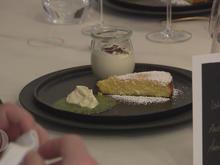 """Weiße Schokoladenmousse mit spanischem Mandelküchlein und """"Snowqueen"""" - Rezept - Bild Nr. 2"""