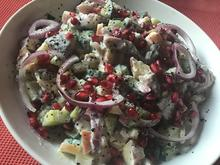 Matjessalat  mit Skyr und Granatapfel - Rezept - Bild Nr. 8054