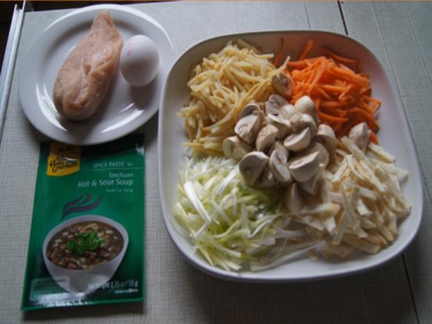 Szechuan Suppe - Rezept - Bild Nr. 8058