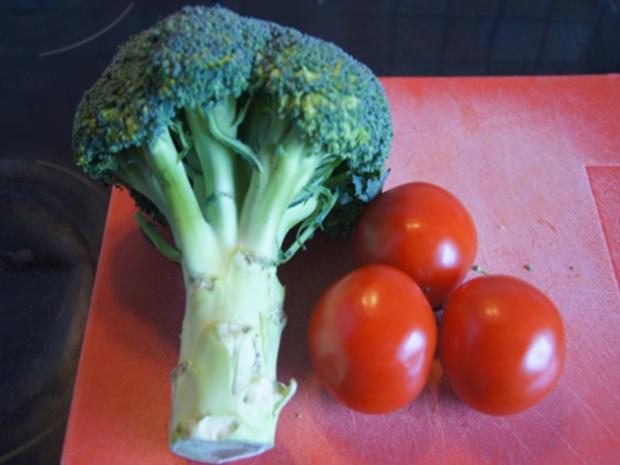 Schweinenackensteak mit pikanten Gemüse - Rezept - Bild Nr. 4