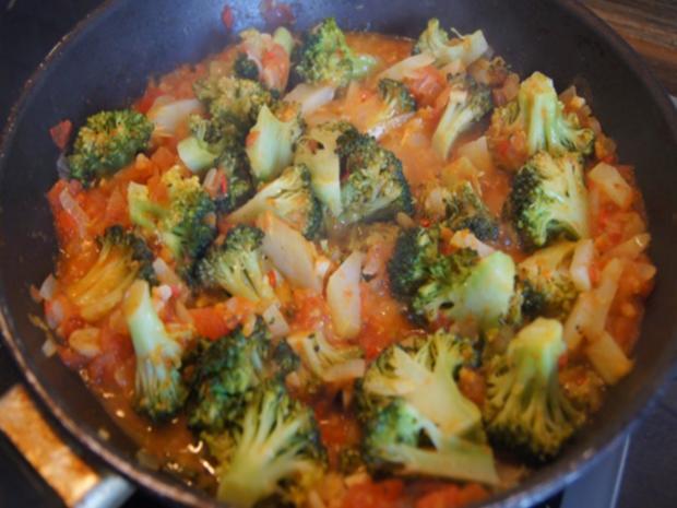 Schweinenackensteak mit pikanten Gemüse - Rezept - Bild Nr. 11