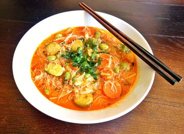 Asia Gemüse-Suppentopf mit Glasnudeln - Rezept - Bild Nr. 8069