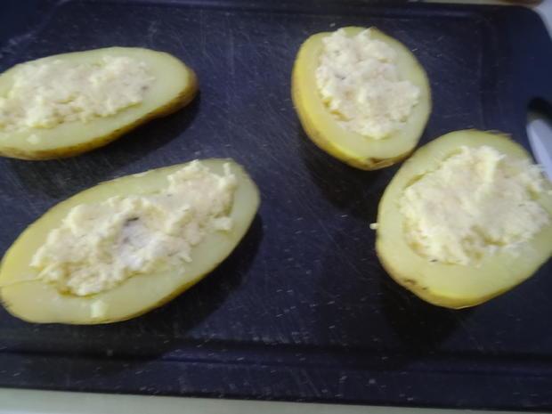 Kartoffel-Bomben im Bacon-Mantel und Käsefüllung - Rezept - Bild Nr. 8073