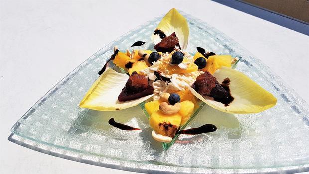 Selleriesalat mit Ananas und Rote Beete - Rezept - Bild Nr. 8071