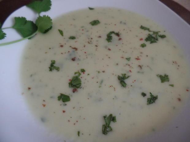 Kohlrabi-Koriander-Suppe - Rezept - Bild Nr. 8069