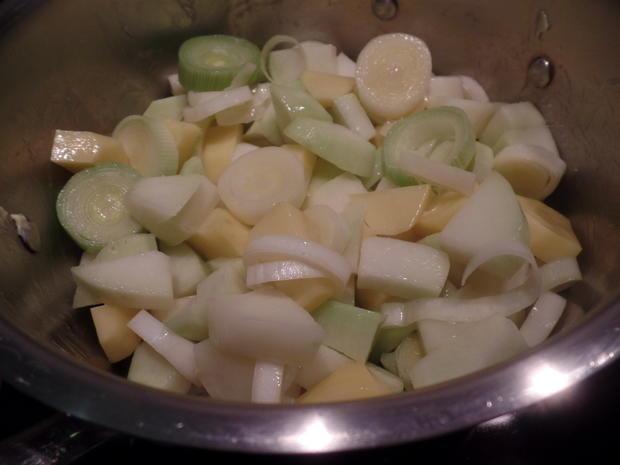 Kohlrabi-Koriander-Suppe - Rezept - Bild Nr. 8071