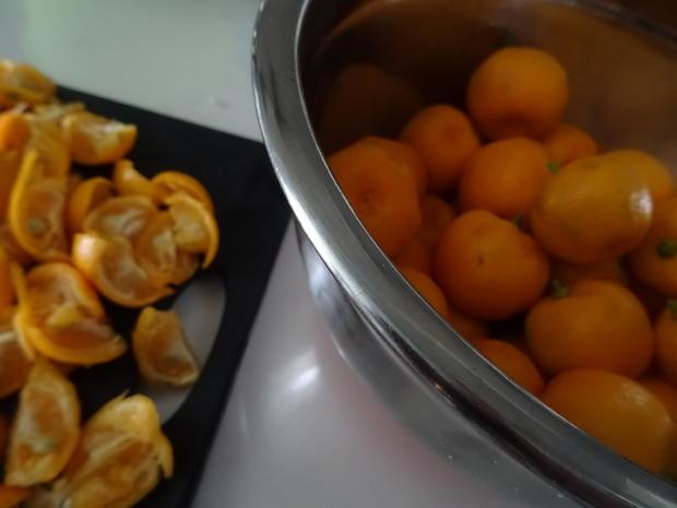 Orangen-Marmelade, leicht bitter-süß - Rezept - Bild Nr. 5
