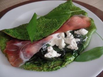 Bärlauch-Omelett - Rezept - Bild Nr. 8069