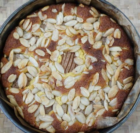 Versunkener Birnenkuchen mit Mandeln Lindau - Rezept - Bild Nr. 8080