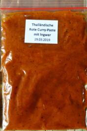 Thailändische Rote Curry Paste mit Ingwer - Krüang Gäng Phet Däng - Rezept - Bild Nr. 8093