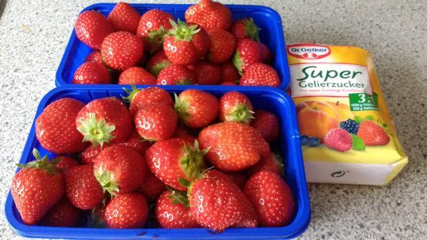 Einfache Samt - Erdbeermarmelade - Rezept - Bild Nr. 3