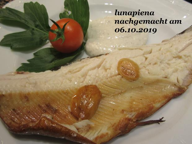 Forelle geräuchert mit rustikalem Kartoffelstampf und Radieschen-Salat - Rezept - Bild Nr. 8106