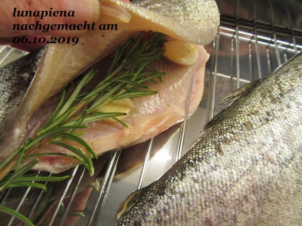 Forelle geräuchert mit rustikalem Kartoffelstampf und Radieschen-Salat - Rezept - Bild Nr. 8109