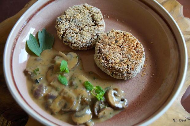 Vegetarische Auberginen-Patties - Rezept - Bild Nr. 2