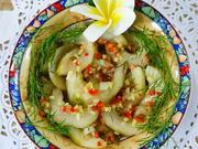 Süß-saure Gurkenstücke Szechuan Art - Rezept - Bild Nr. 8102