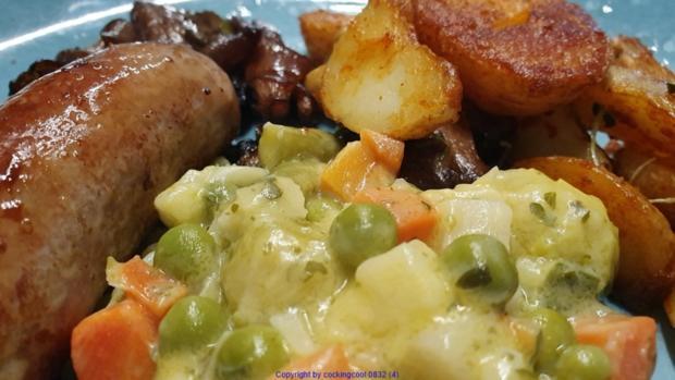 """Herzhafte Kartoffelspalten oder Scheiben """"Wedges"""" - Rezept - Bild Nr. 8105"""