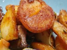 """Herzhafte Kartoffelspalten oder Scheiben """"Wedges"""" - Rezept - Bild Nr. 8106"""