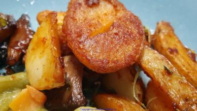 Biggi`s Beilagen = Herzhafte Kartoffelspalten oder Scheiben - Rezept - Bild Nr. 8106