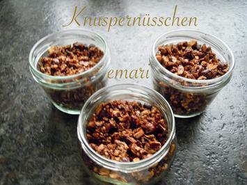 Knusper Nüsschen - Rezept - Bild Nr. 8113