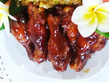 Spicy Chicken Wings in balinesischer BBQ-Sauce - Rezept - Bild Nr. 8105