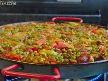 Paella mit Hähnchen & Chorizo (Es handelt sich hier natürlich nicht um das Original) - Rezept - Bild Nr. 8122