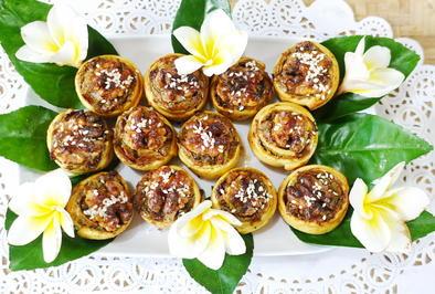 Süße Nusskringel mit Misithra-Käse und Orangensirup - Rezept - Bild Nr. 8129