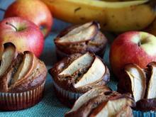 Gebäck: Apfel-Bananen-Muffins - Rezept - Bild Nr. 2