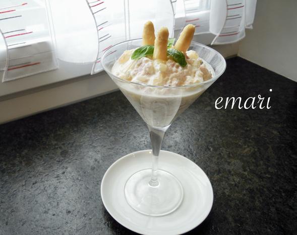 eleganter Spargel Cocktail - zum 10 Jahre KB Jubiläum - Rezept - Bild Nr. 8144