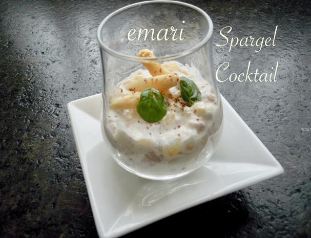 eleganter Spargel Cocktail - zum 10 Jahre KB Jubiläum - Rezept - Bild Nr. 8147
