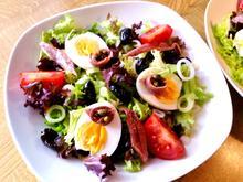 Bunter Salatteller (Hauptspeise) = kochbar Challenge 5.0 (Mai 2019) - Rezept - Bild Nr. 8140