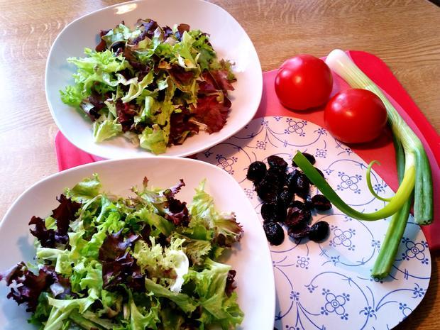Bunter Salatteller (Hauptspeise) = kochbar Challenge 5.0 (Mai 2019) - Rezept - Bild Nr. 8142