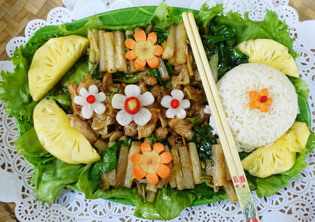 Rindfleisch mit scharfem Rettich – Luo Bo Niu Rou Siu - Rezept - Bild Nr. 8142