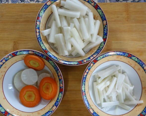 Rindfleisch mit scharfem Rettich – Luo Bo Niu Rou Siu - Rezept - Bild Nr. 8144