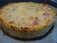Kartoffel-Quiche mit Schnittlauch-Dip - Rezept - Bild Nr. 8142