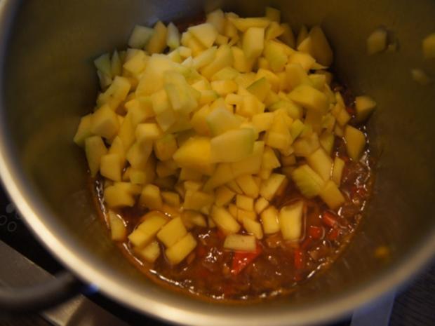 Grüner Spargel mit Cocktail Garnelen und Chili-Mango-Chutney - Rezept - Bild Nr. 11