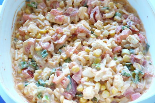 Kritharaki Salat - Rezept - Bild Nr. 8149