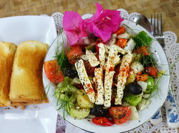 """Rezept: Kretischer Hirtensalat """"Matala"""""""