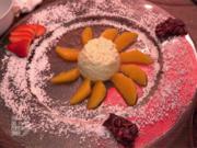 Topfenschaum auf in Grand Marnier mariniertem Orangenfiletbett - Rezept - Bild Nr. 2