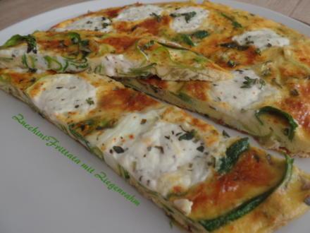 Zucchini-Frittata mit Ziegenrahm - Rezept - Bild Nr. 8156