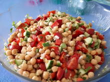 Kichererbsen-Salat - Rezept - Bild Nr. 8