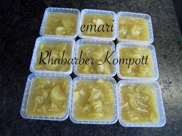 Rhabarber Kompott - Rezept - Bild Nr. 8168
