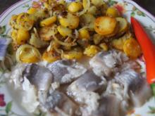 Herings Happen mit Bratkartoffeln - Rezept - Bild Nr. 2