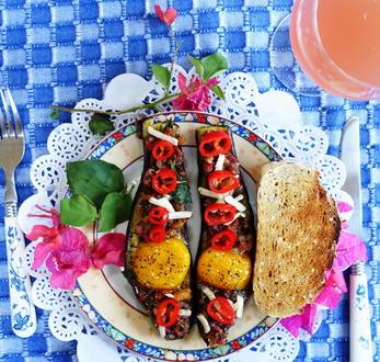 Kretische Auberginen mit Ei - Rezept - Bild Nr. 8171