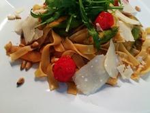 Pasta mit gebratenem Spargel und diversen Begleitern - Rezept - Bild Nr. 8178