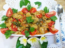 Würzige, balinesische, weiße Bohnen mit Kai-len und Tomaten - Rezept - Bild Nr. 8178
