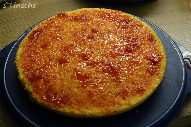 Erdbeer-Sahne-Schmand-Torte - Rezept - Bild Nr. 8179