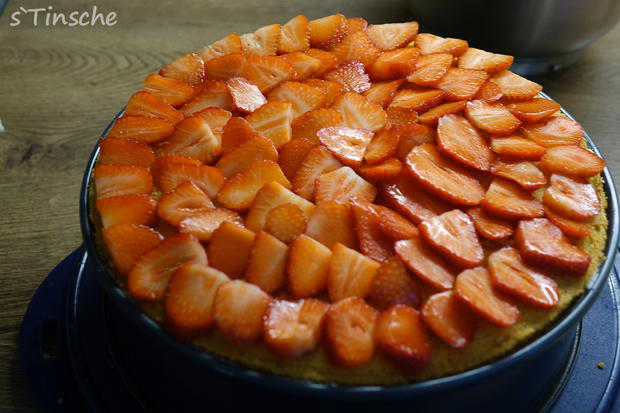 Erdbeer-Sahne-Schmand-Torte - Rezept - Bild Nr. 8183