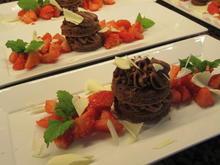 Dessert: Schokotörtchen mit Erdbeeren - Rezept - Bild Nr. 8178