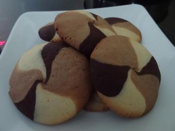 """Butter-Cookies mit """"Optik"""" - Rezept - Bild Nr. 8178"""
