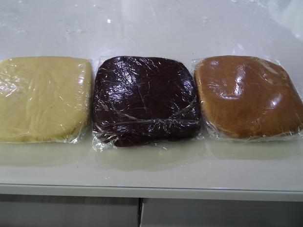 """Butter-Cookies mit """"Optik"""" - Rezept - Bild Nr. 8187"""